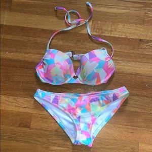 Colorful bathingsuit